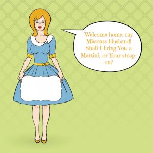 Miss Rachel loves having a sissy housewife! 1-800-356-6169